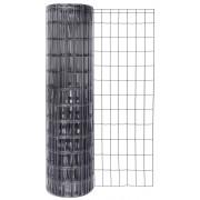 Suvirintas tinklas, 2,5 x 100 x 50 mm, 25 m, antracitas