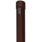 Apvalus tvoros stulpas, 38 x 2000 mm, rudas