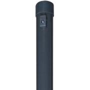 Apvalus tvoros stulpas, 38 x 2000 mm, antracitas
