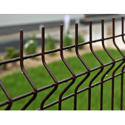 Segmentinė tvora, ruda, 2500 x 1230 mm (5,0 mm)