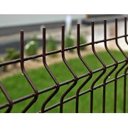 Segmentinė tvora, ruda, 2500 x 1530 mm (5,0 mm)