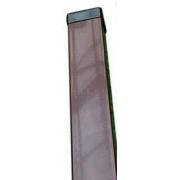 Tvoros stulpas 60 x 40 x 2300 mm, rudas