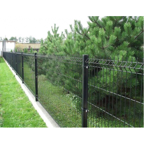 Segmentinė tvora, antracitas, 2500 x 1230 mm (4,0 mm)