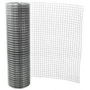 Cinkuotas suvirintas tinklas, 0,71 x 12,7 x 12,7 x 1000 mm (25m)