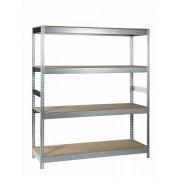 Sandėliavimo lentyna 180 x 150 x 50 cm, 4 lentynos, 500 kg