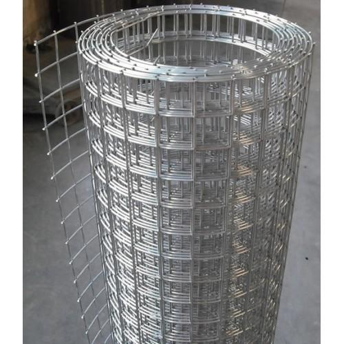 Cinkuotas suvirintas tinklas, 1,45 x 19 x 19 x 1000 mm (5 m)