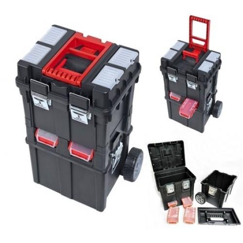 Dėžė įrankiams su ratais PATROL Wheelbox HD Compact