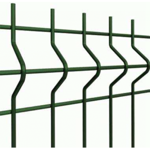 Segmentinė tvora, žalia, 2500 x 1030 mm (4,0 mm)