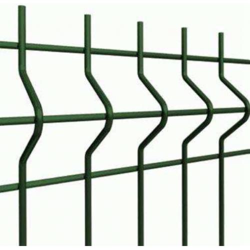 Segmentinė tvora, žalia, 2500 x 1230 mm (4,0 mm)