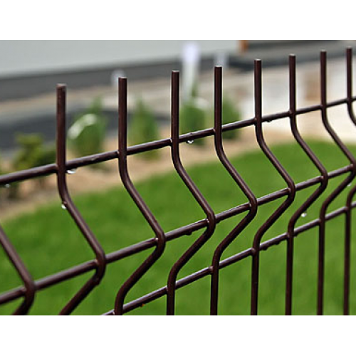 Segmentinė tvora, ruda, 2500 x 1530 mm (4,0 mm)