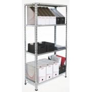 Sandėliavimo lentyna 150 x 75 x 30 cm, 4 lentynos, 40 kg