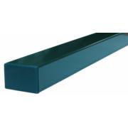 Tvoros stulpas 60 x 40 x 2500 mm, žalias